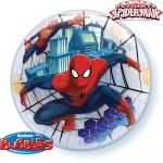 "22"" Bubble balón Spider Man"
